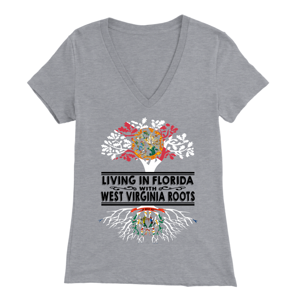 Living In Florida With West Virginia Roots T Shirt