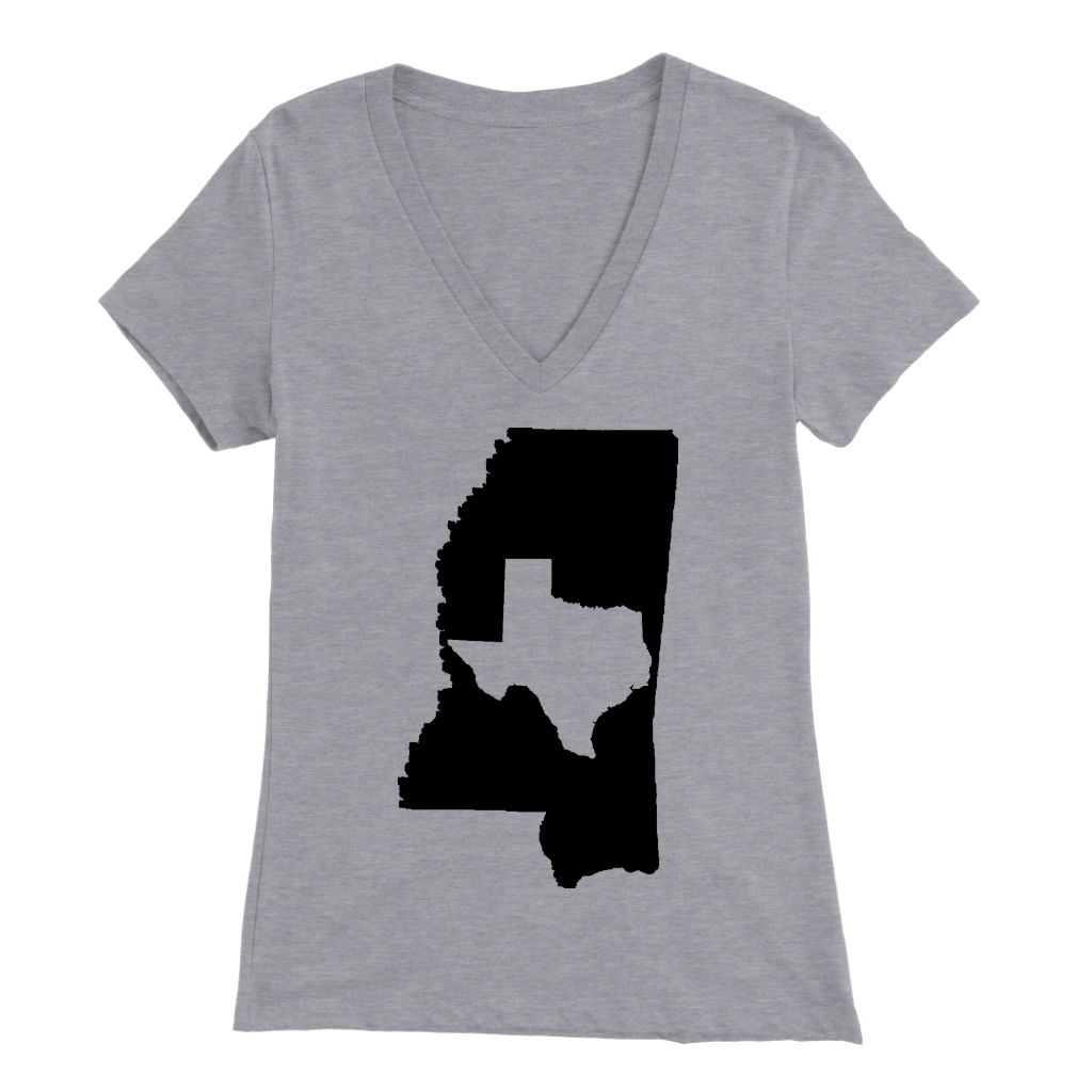 Living In Mississippi And You're From Texas T- Shirt