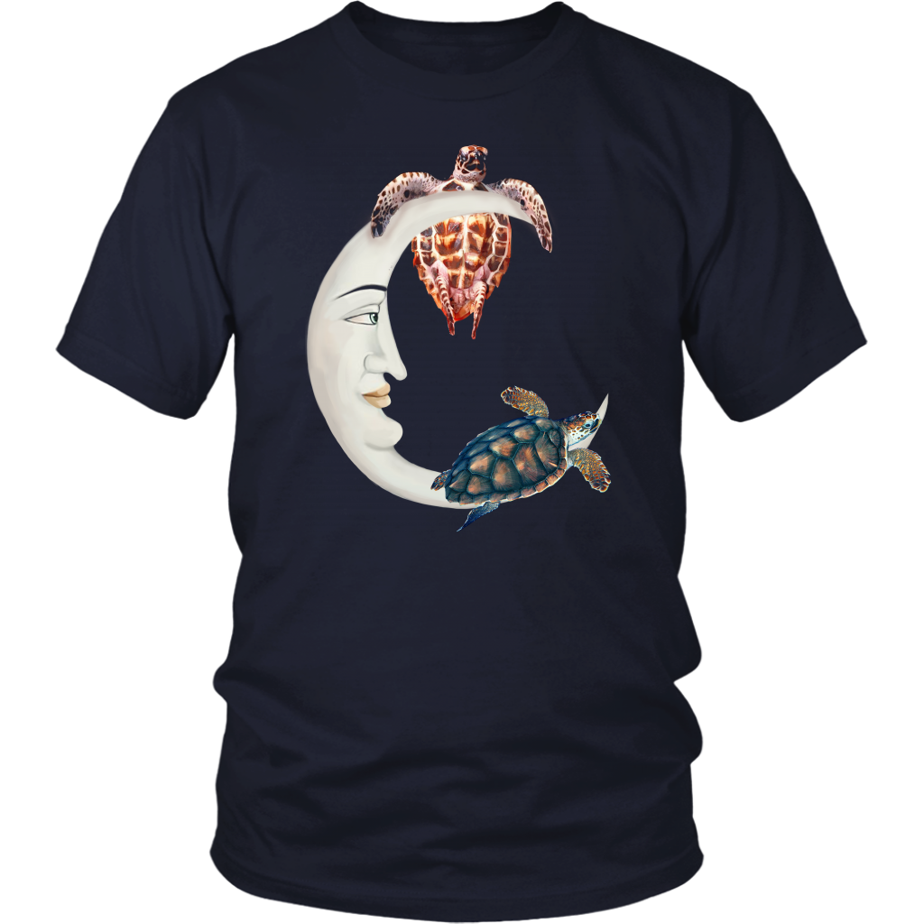 Turtle And Moon T-shirt