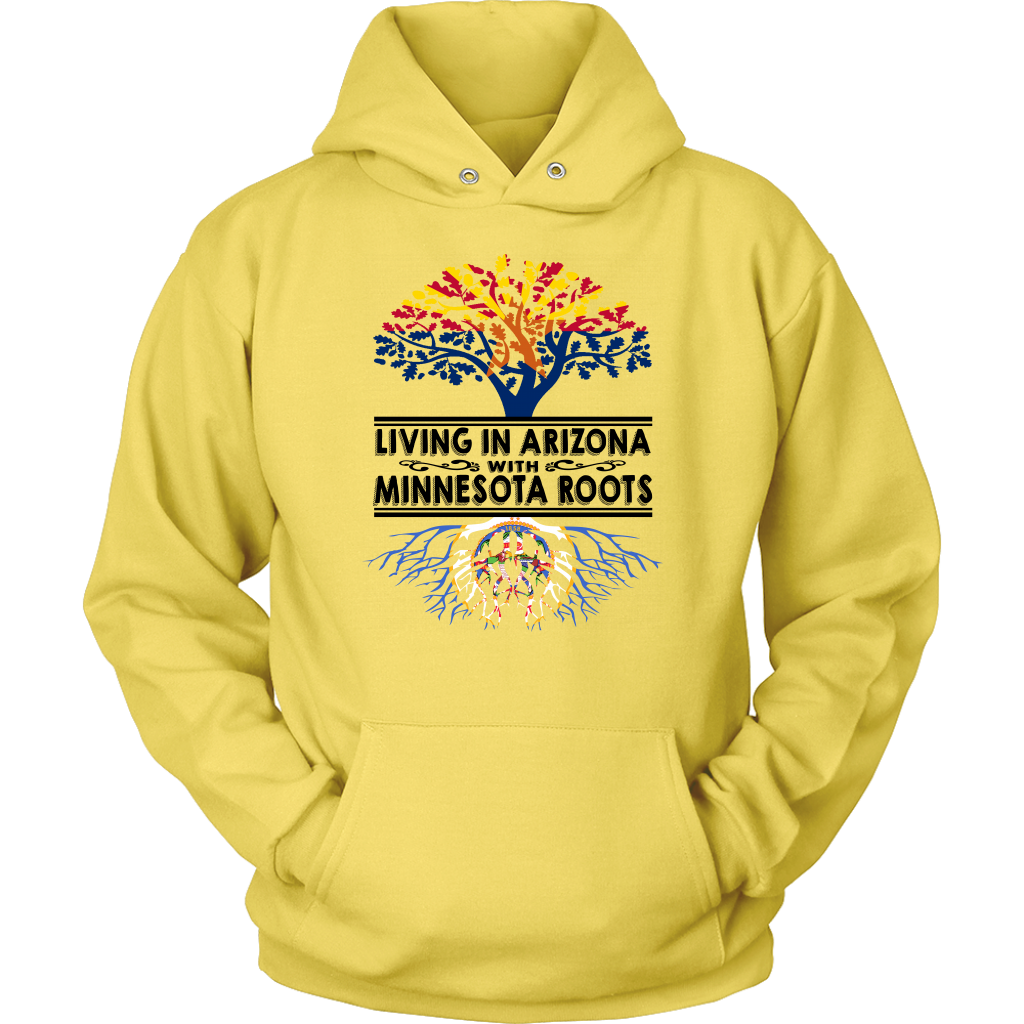 Living In Arizona With Minnesota Roots T Shirt
