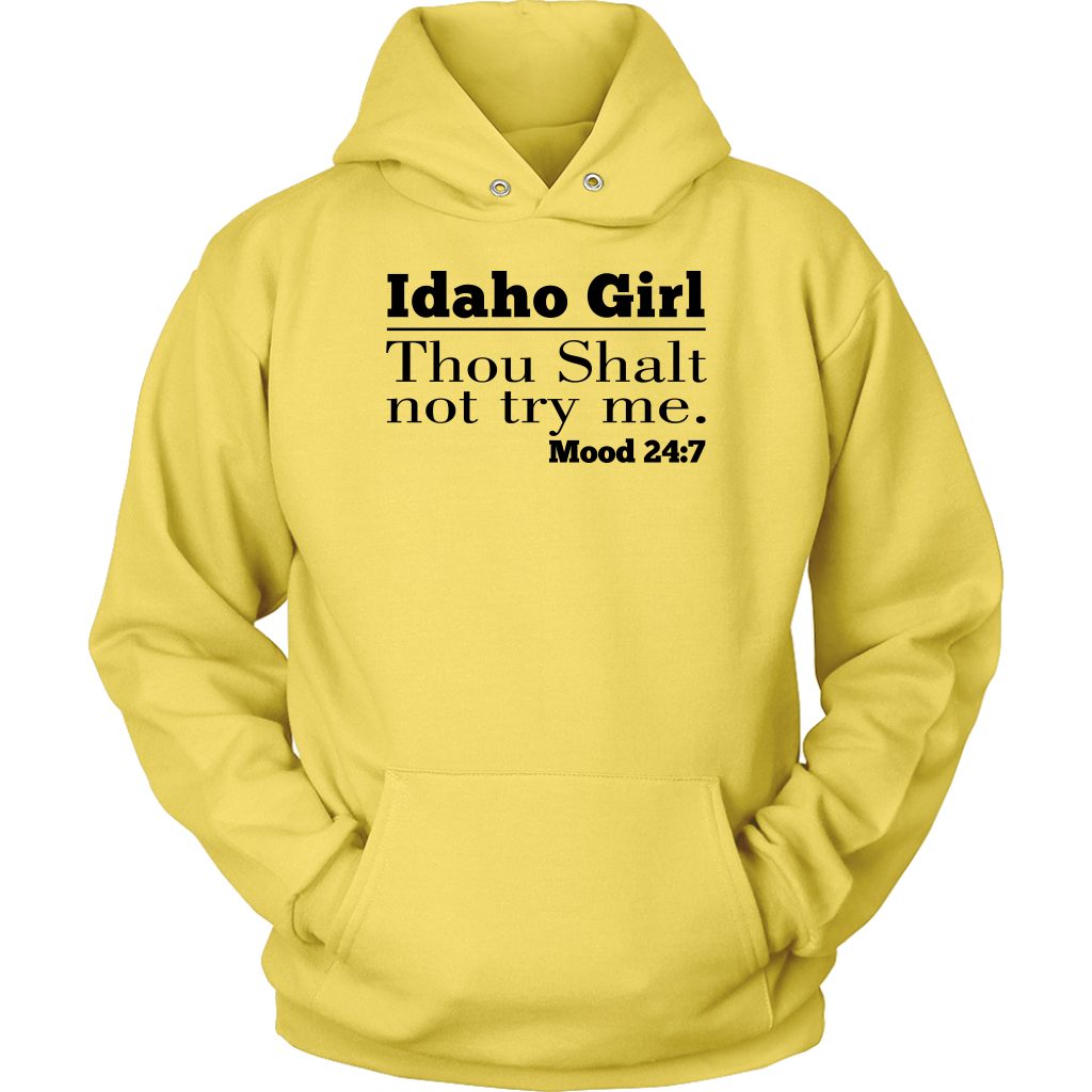 Idaho Girl Thou Shalt Not Try Me Tank Top