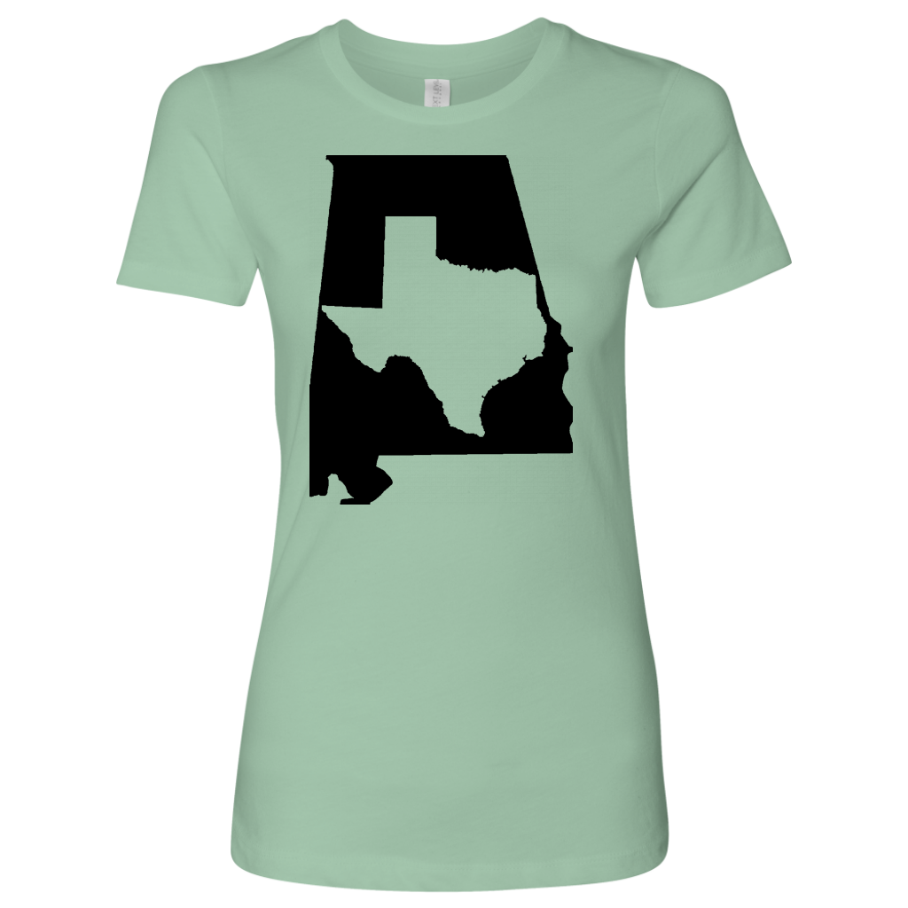 Living In Alabama And You're From Texas T- Shirt