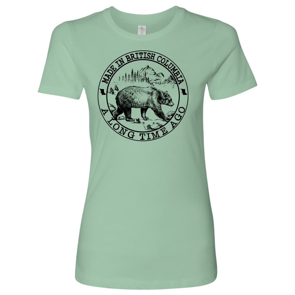Made In British Columbia A Long Time Ago T-Shirt