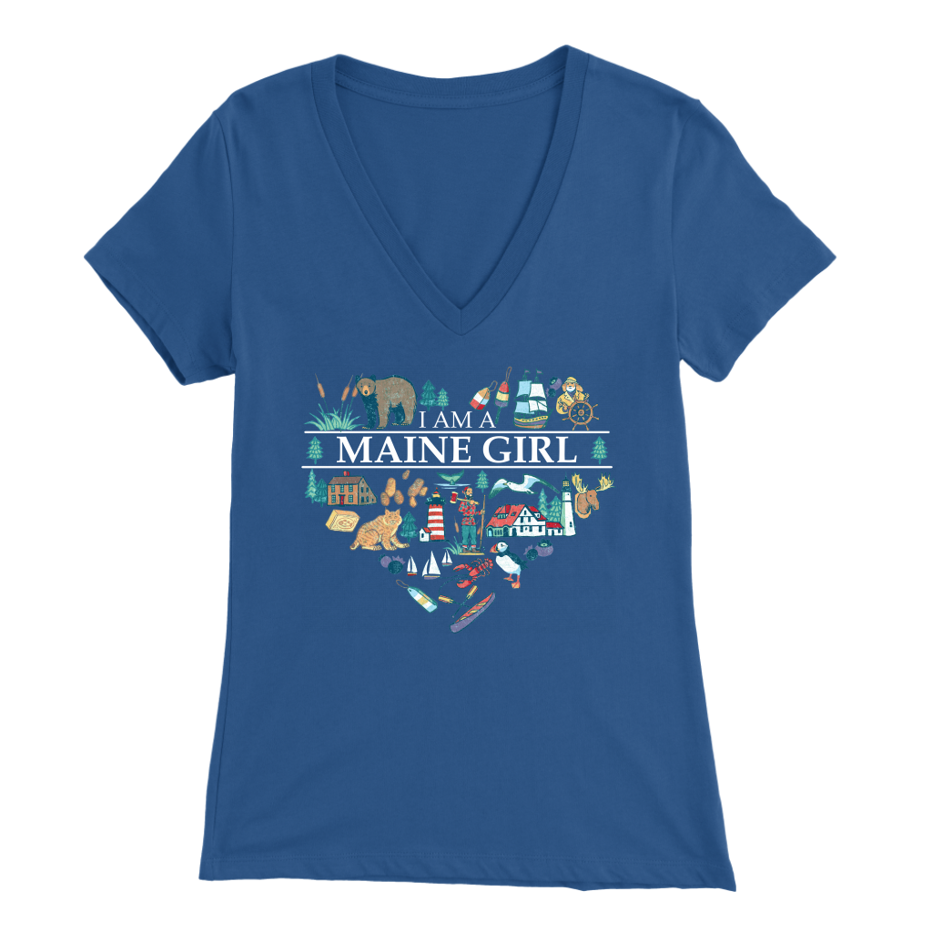 I Am A Maine Girl Sweatshirt