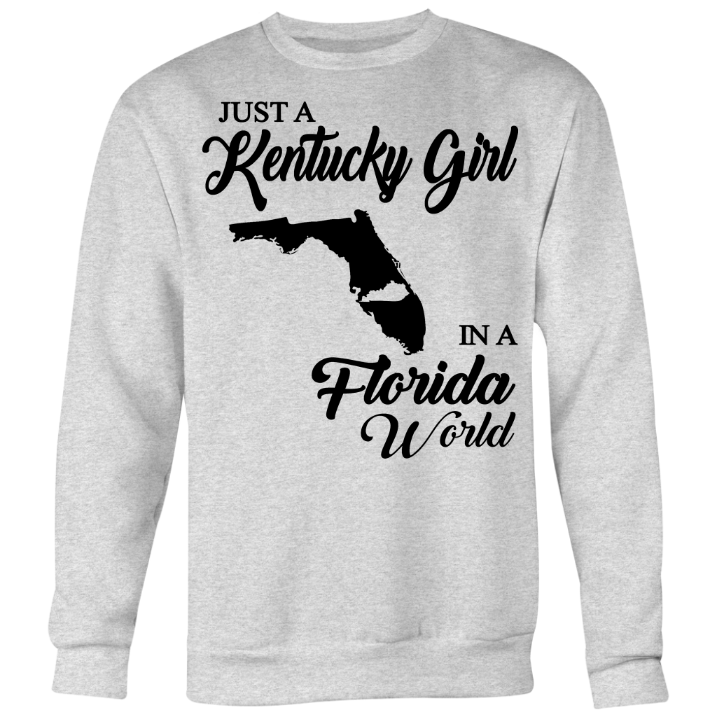 Just A Kentucky Girl In A Florida World T-shirt