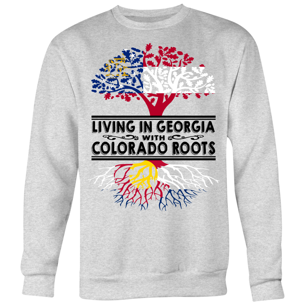 Living In Georgia With Colorado Roots T-Shirt