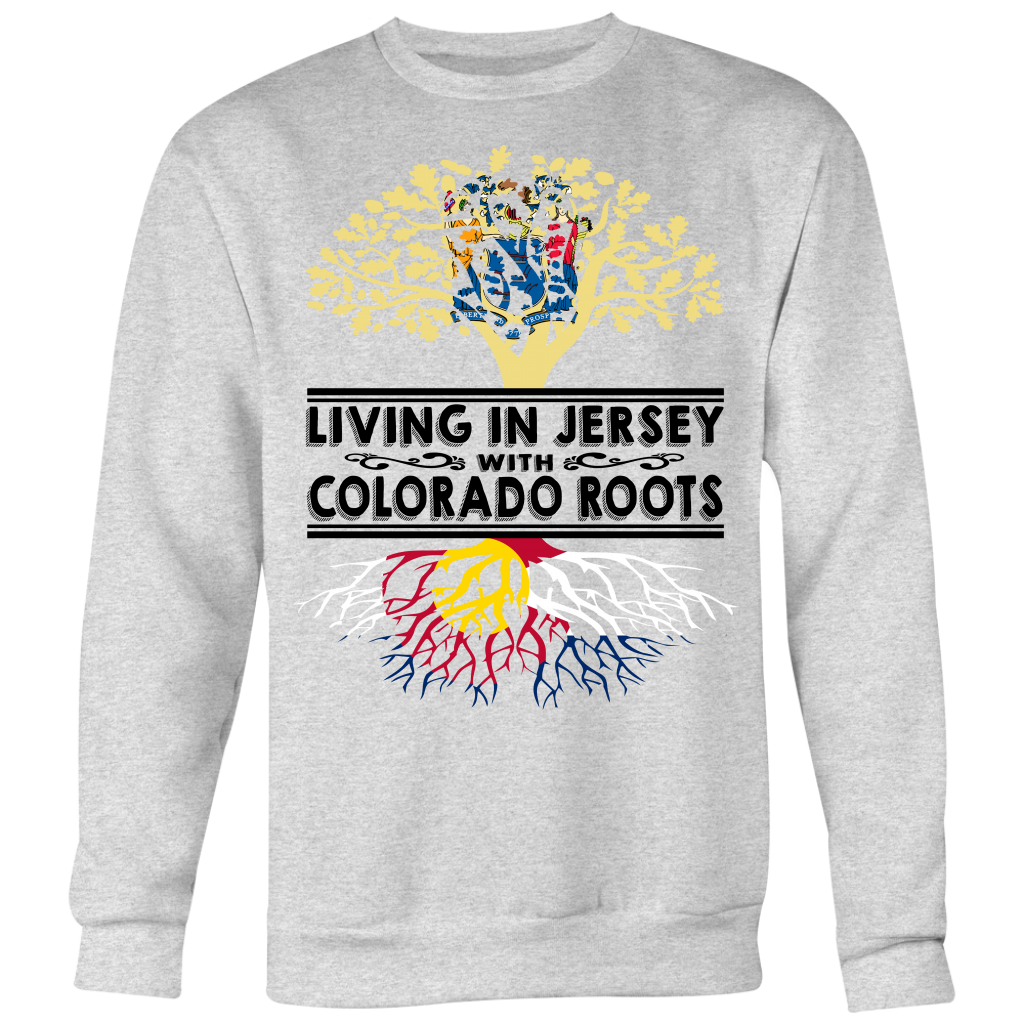 Living In New Jersey With Colorado Roots T-Shirt