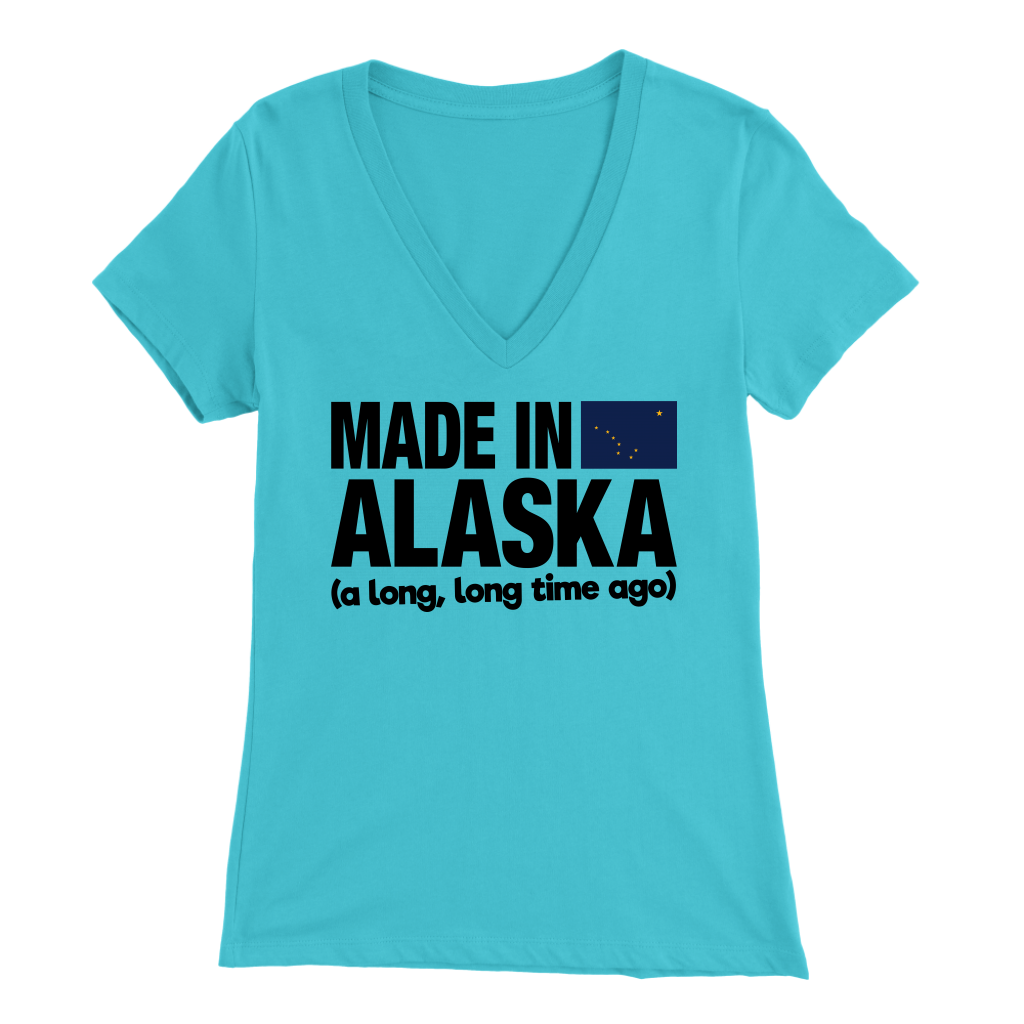MADE IN ALASKA A LONG LONG TIME AGO