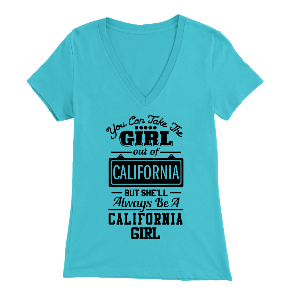 Always Be A California Girl T Shirt