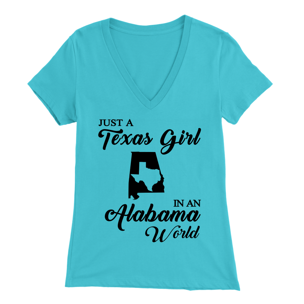 Just A Texas Girl In An Alabama World T- Shirt