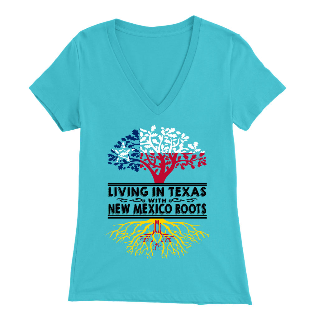 Living In Texas With New Mexico Roots T-Shirt
