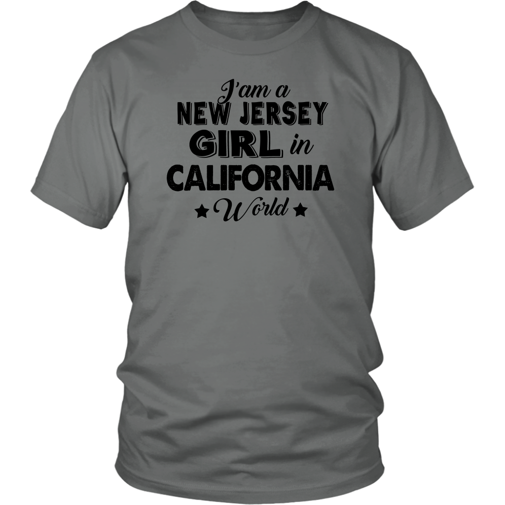 I'M A NEW JERSEY GIRL IN CALIFORNIA WORLD