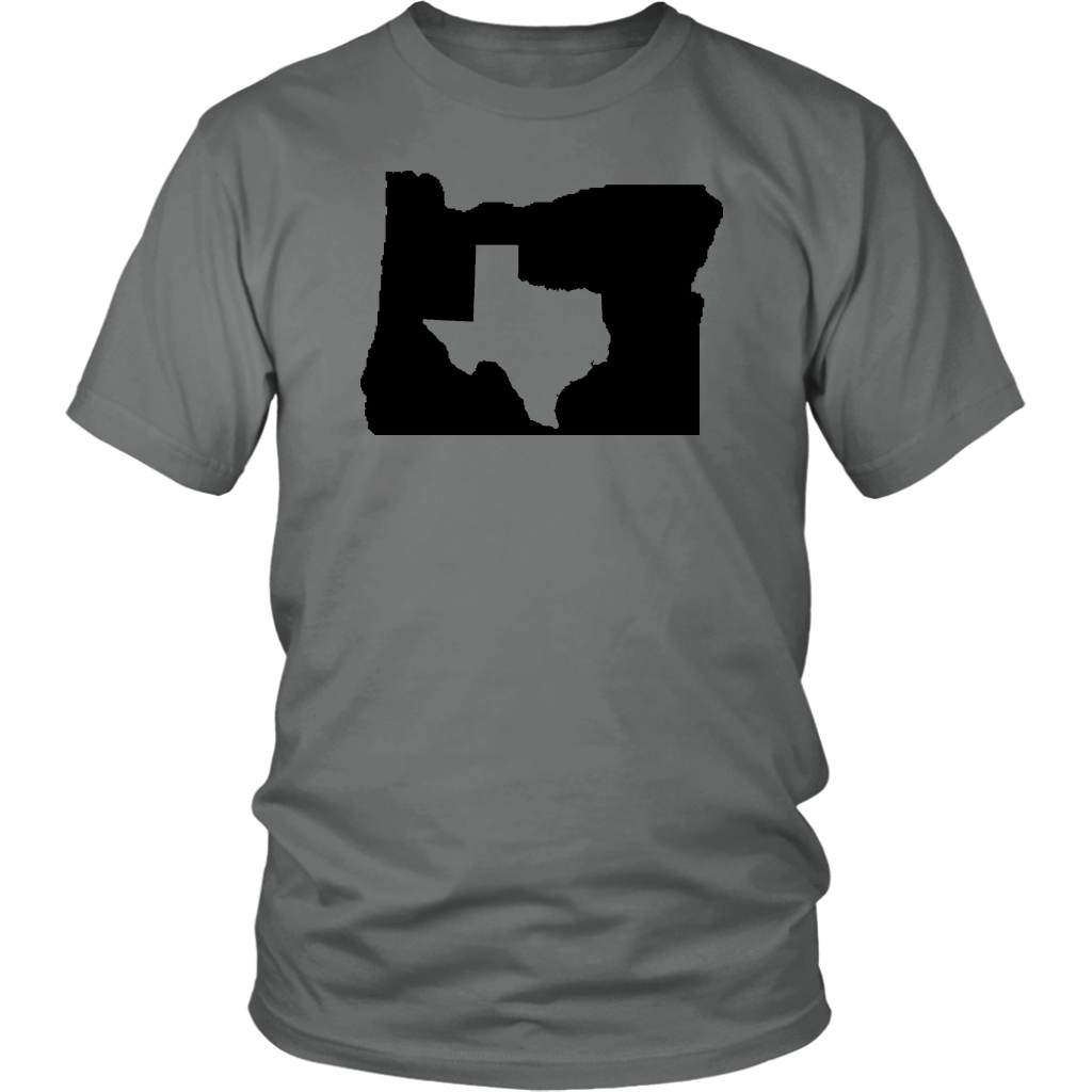 Living In Oregon And You're From Texas T- Shirt