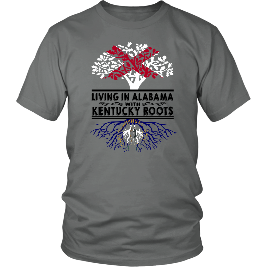 Living In Alabama With Kentucky Roots T-shirt