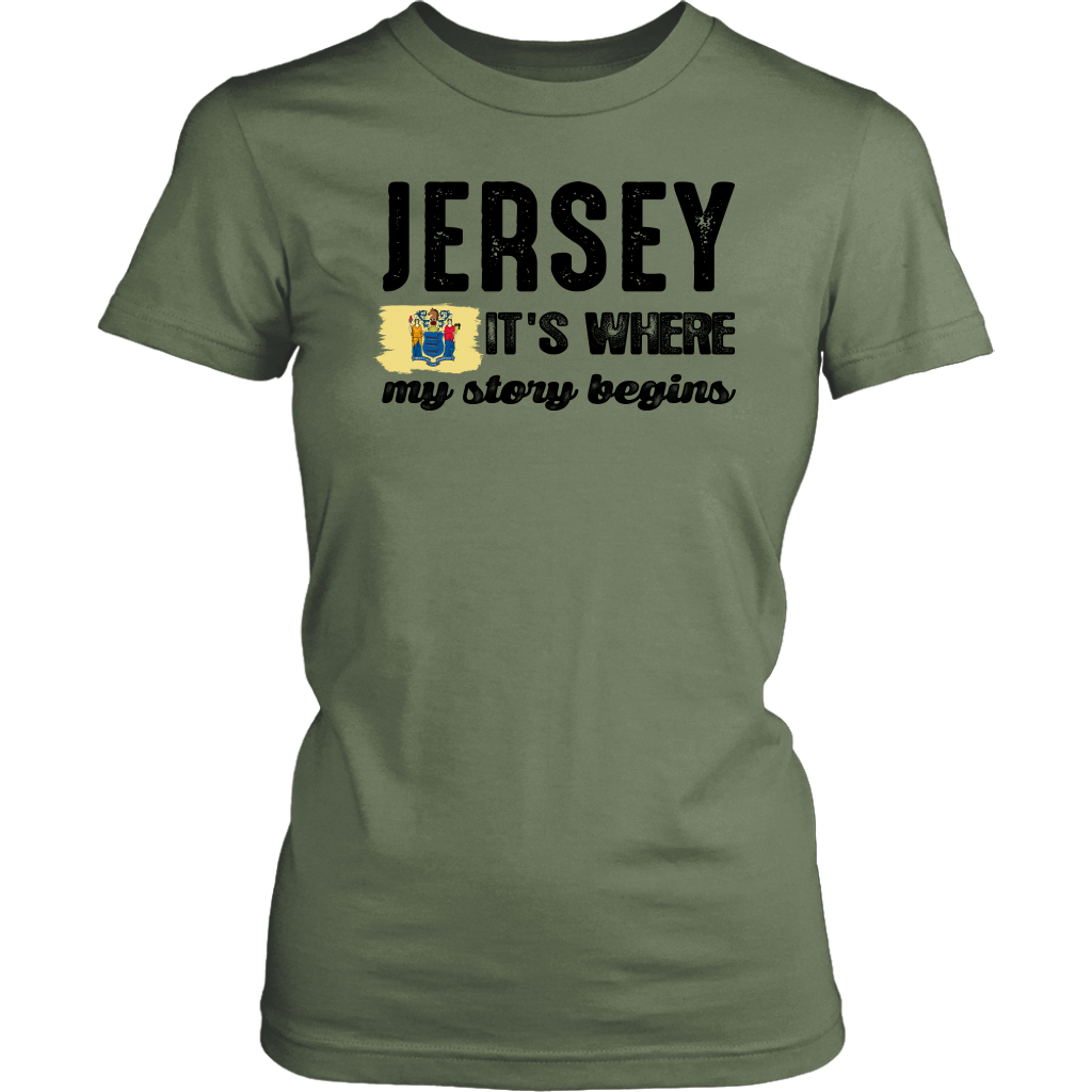 JERSEY. IT'S WHERE MY STORY BEGINS