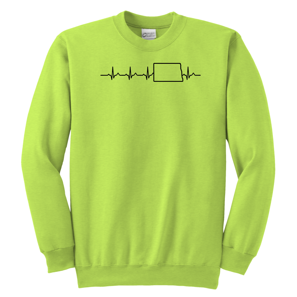 North Dakota Heartbeat T Shirt