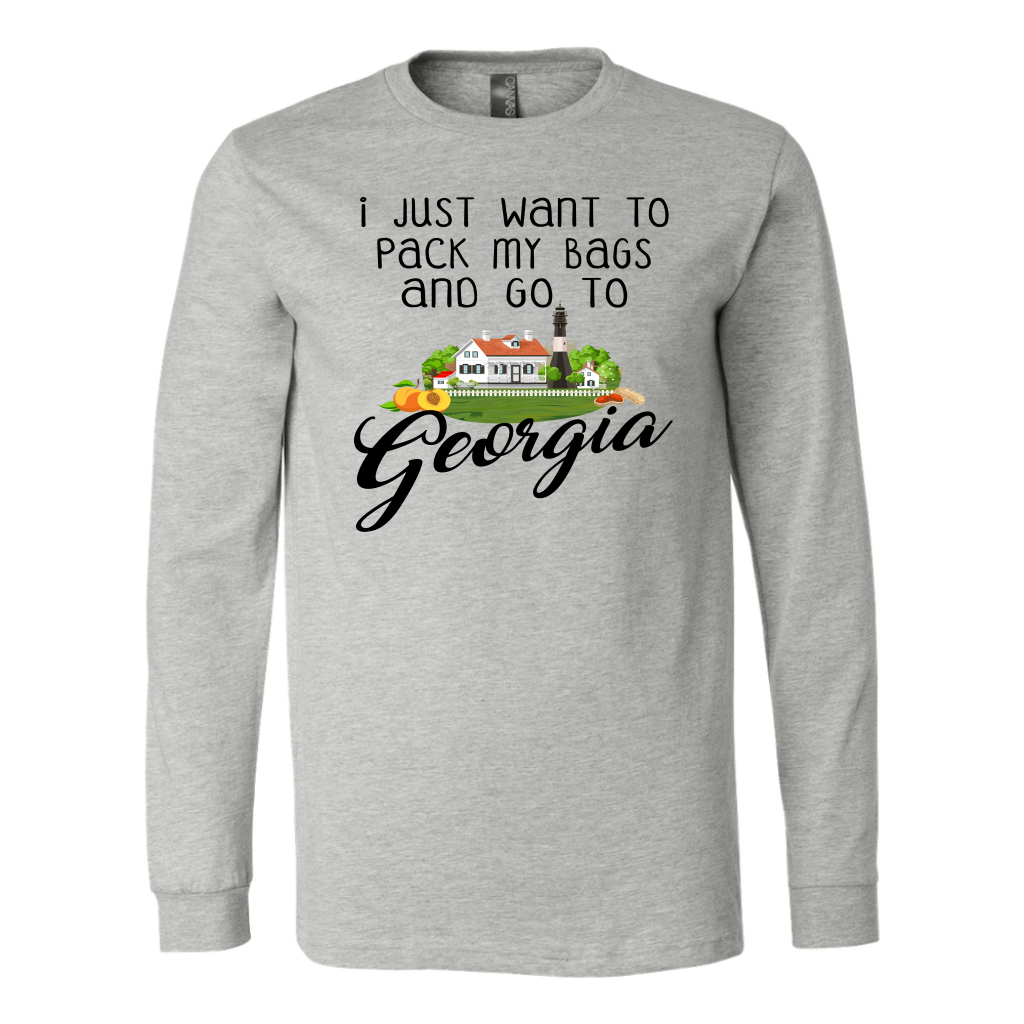I JUST WANT TO PACK MY BAGS AND GO TO GEORGIA