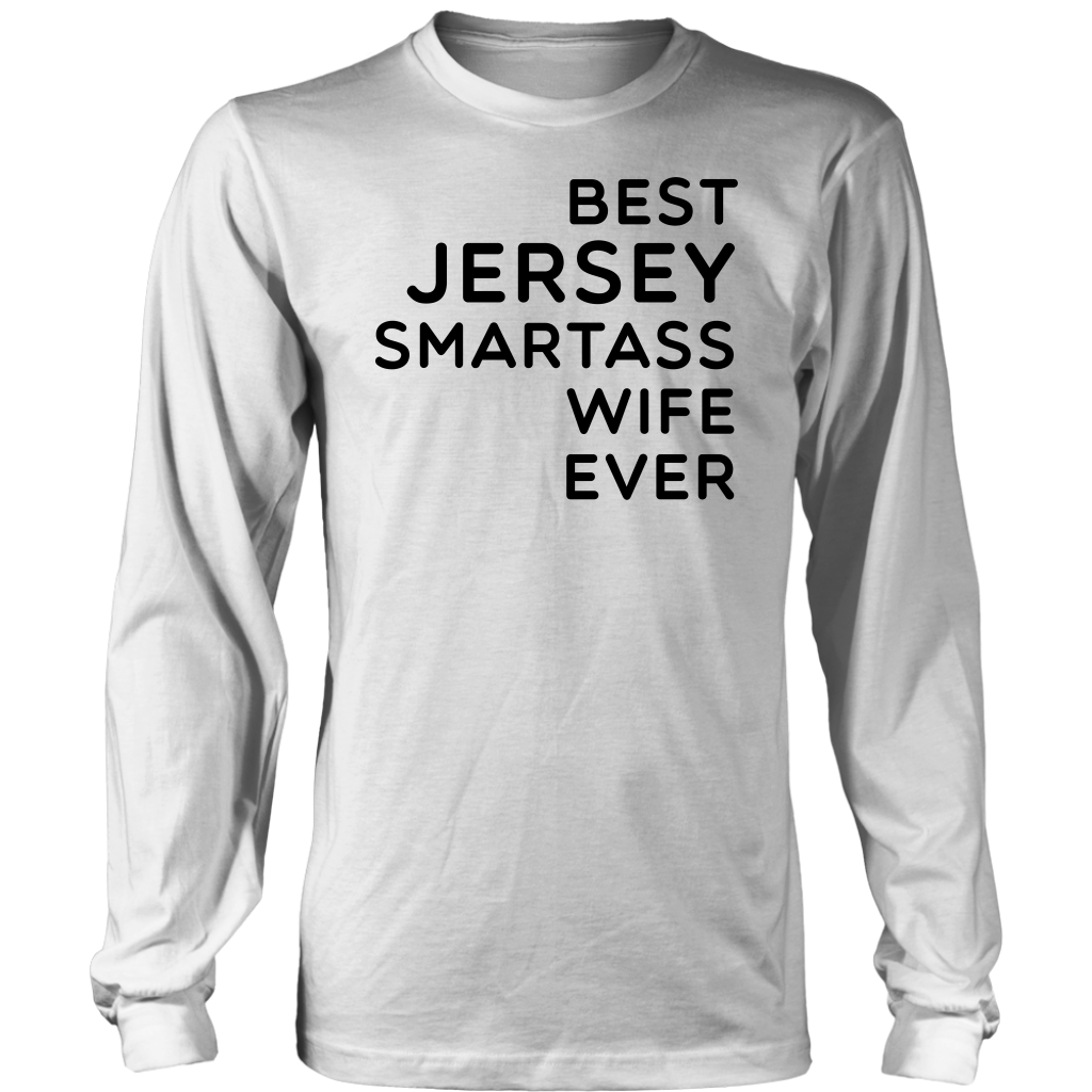 Best Jersey Smartass Wife Ever T-Shirt