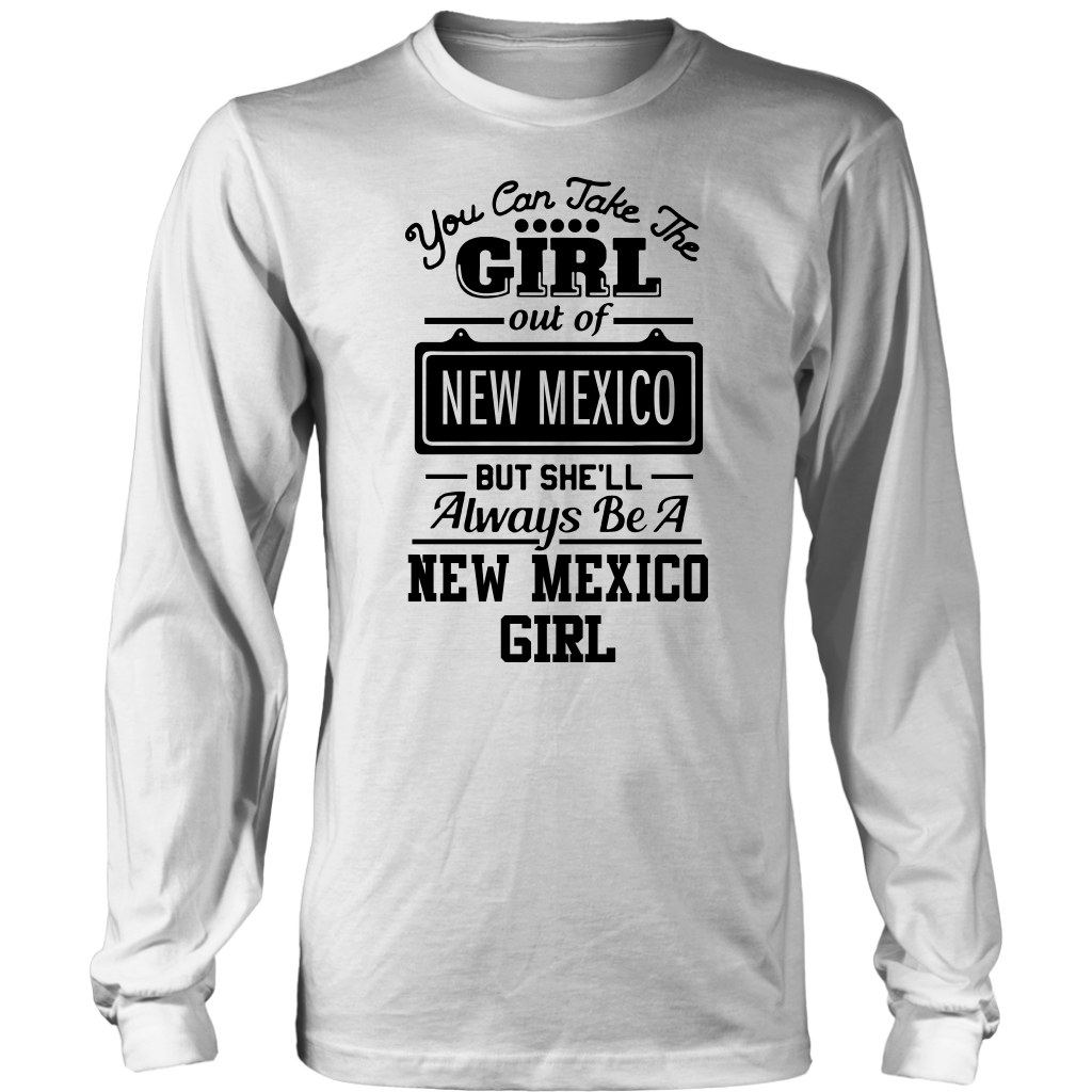 She'll Always Be A New Mexico Girl T-Shirt
