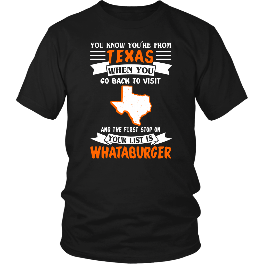 YOU KNOW YOU'RE FROM TEXAS