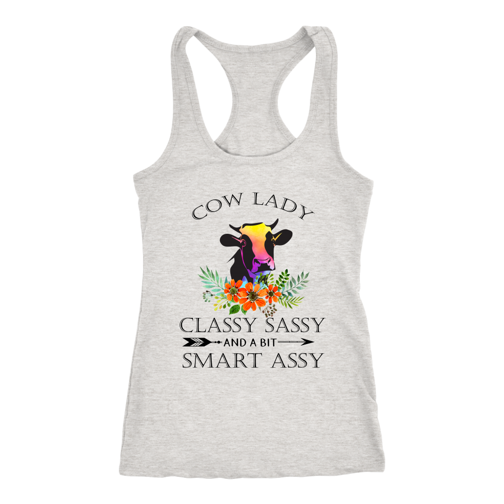 Cow Lady Classy Sassy And A Bit Smart Assy T-Shirt