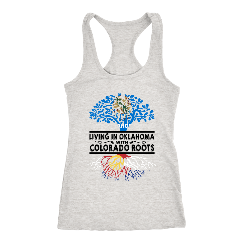Living In Oklahoma With Colorado Roots Tank Top