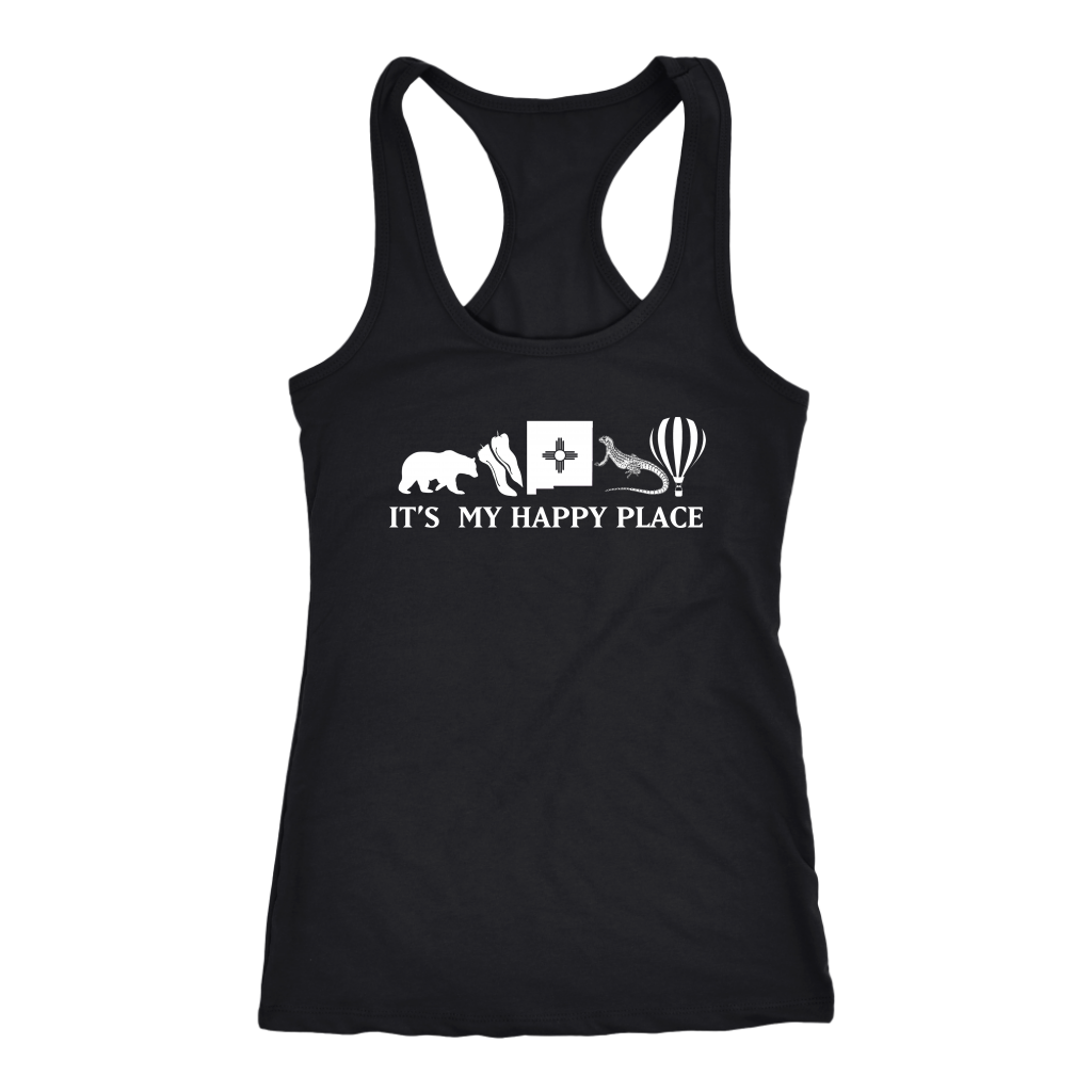 New Mexico It's My Happy Place Long Sleeve Shirt
