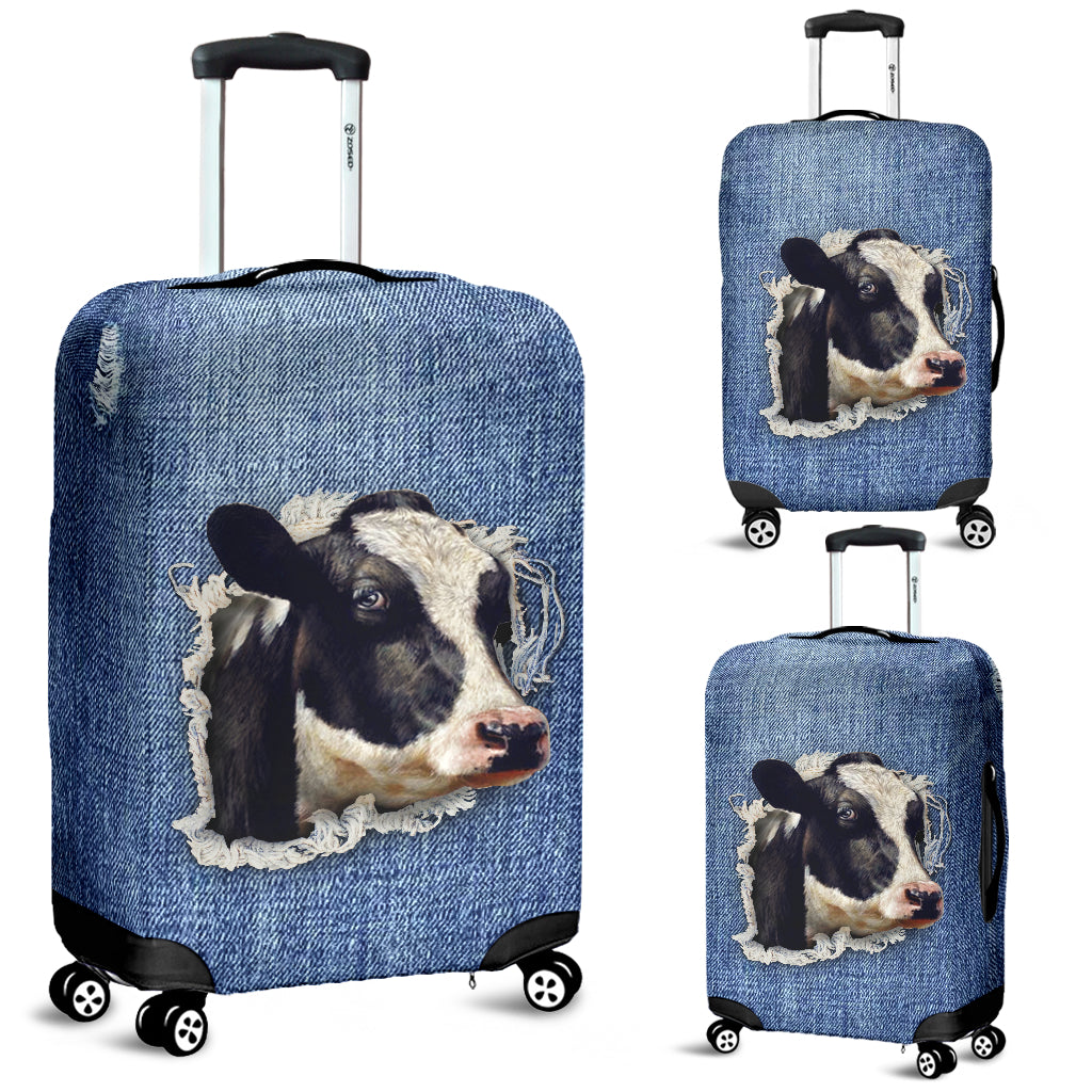 COW LUGGAGE COVER -  Teezalo LLC