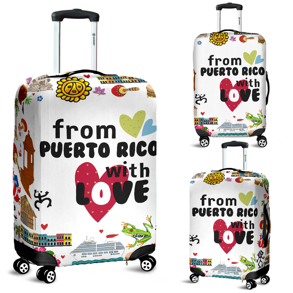 From Puerto Rico With Love Luggage Covers