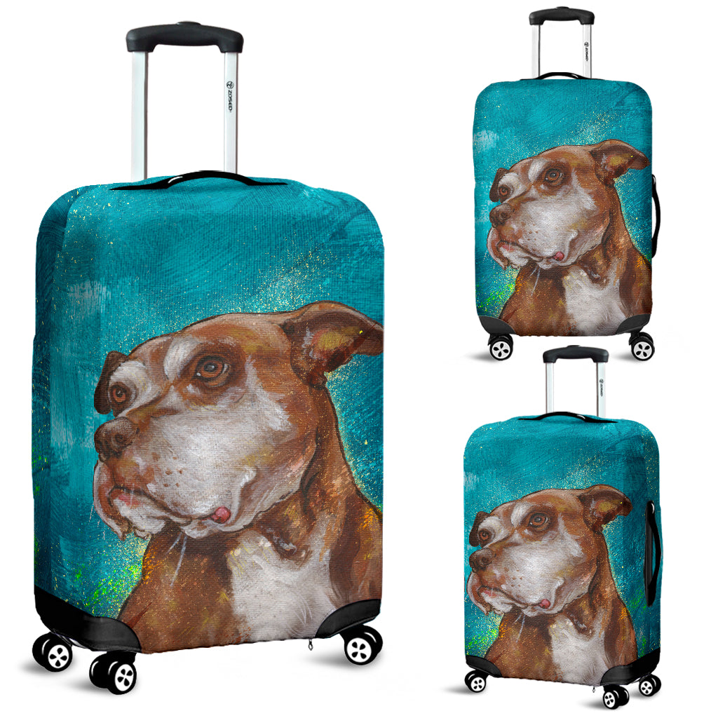 Pitbull 3d Luggage Covers -  Teezalo LLC
