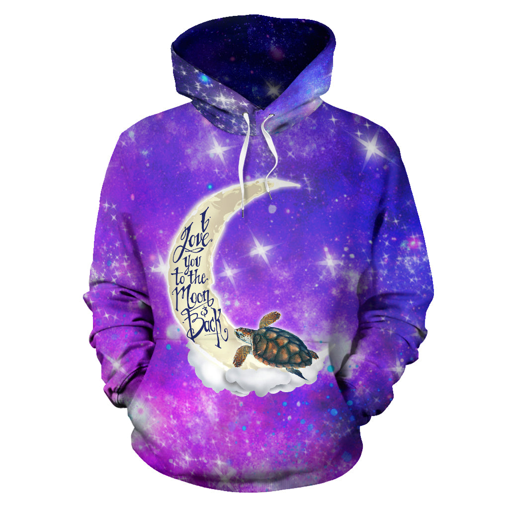 TURTLE ALL OVER HOODIE