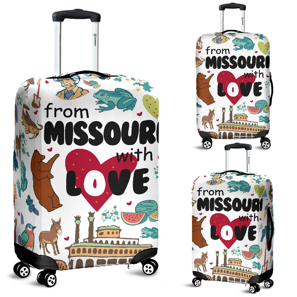 From Missouri With Love Luggage Cover