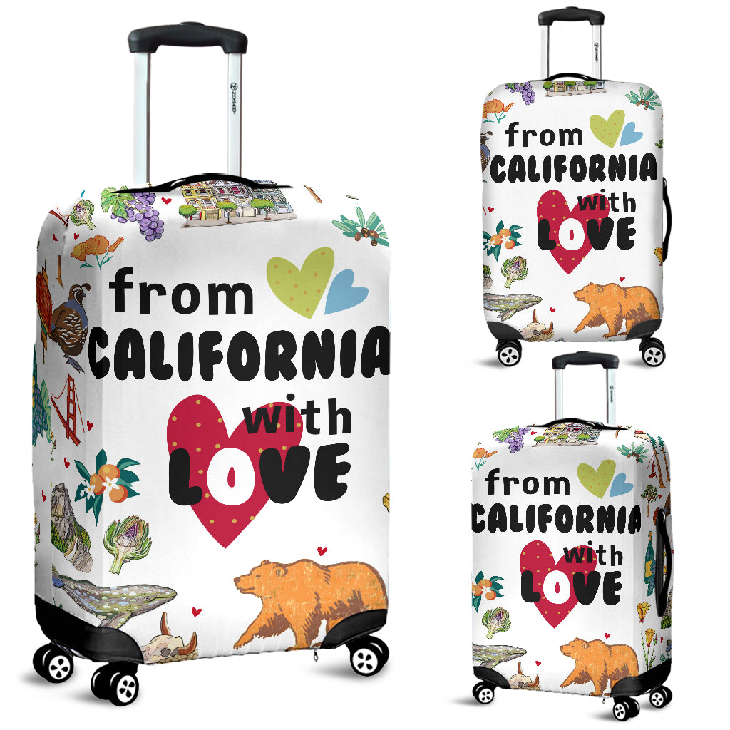 From California With Love Luggage Covers