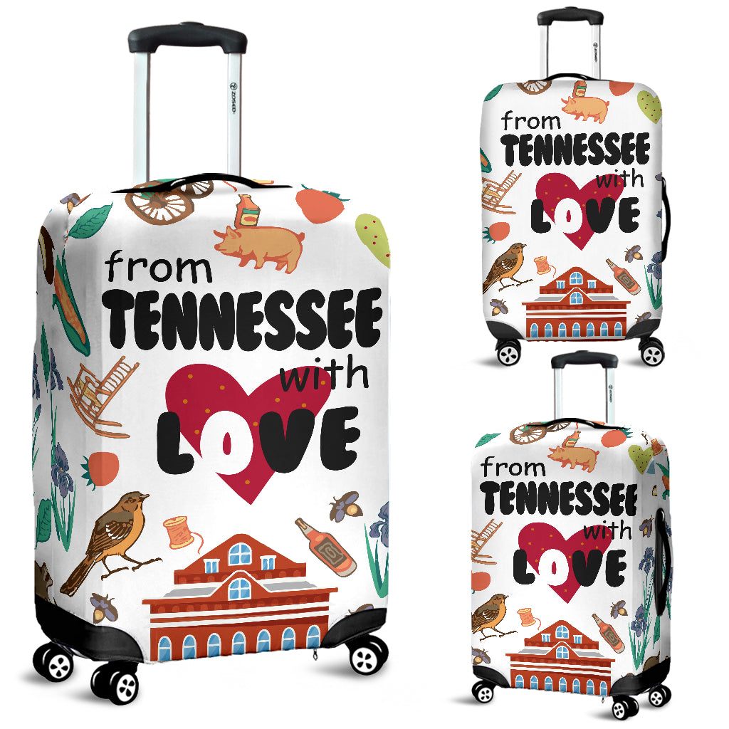 From Tennessee With Love Luggage Cover