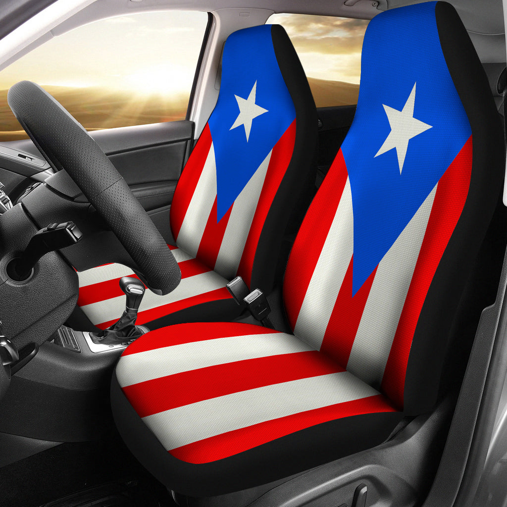 Puerto Rico Flag Car Seat Covers -  Teezalo LLC