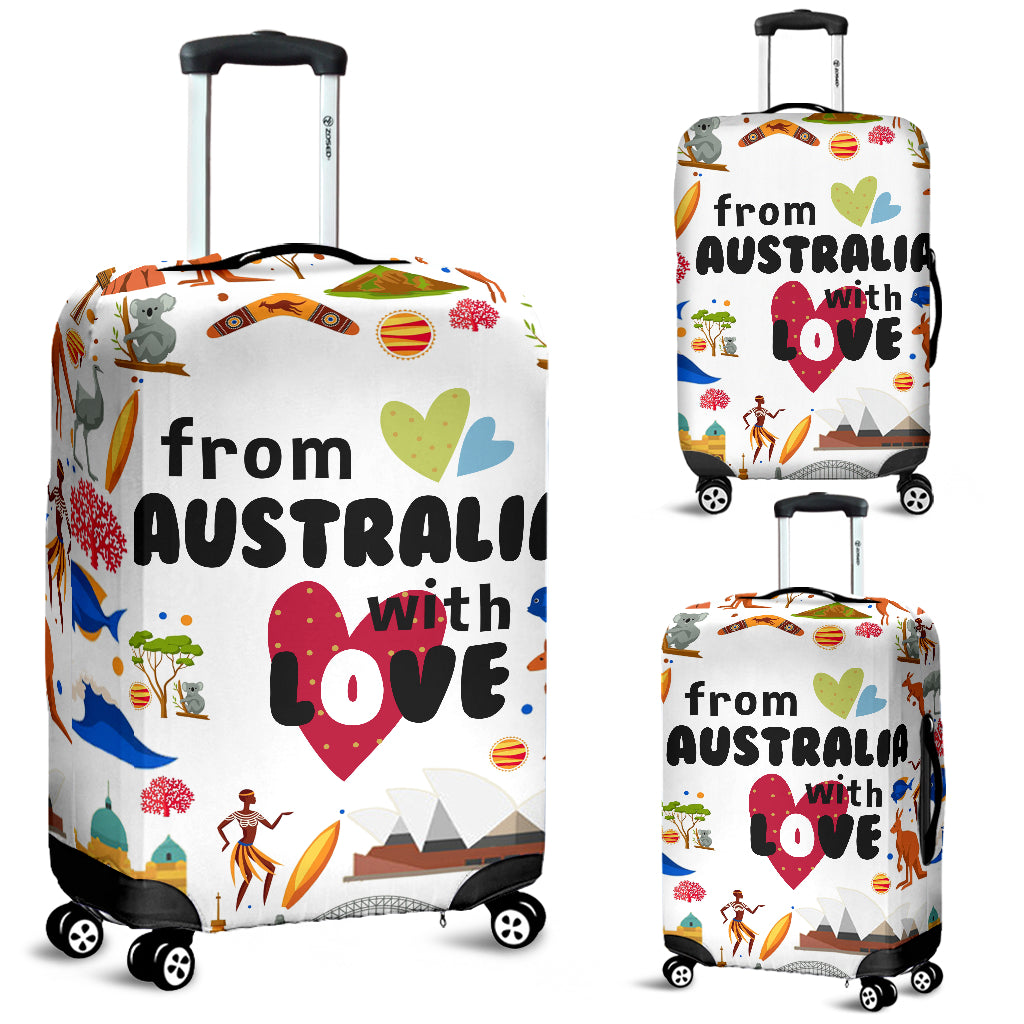 From Australia With Love Luggage Covers