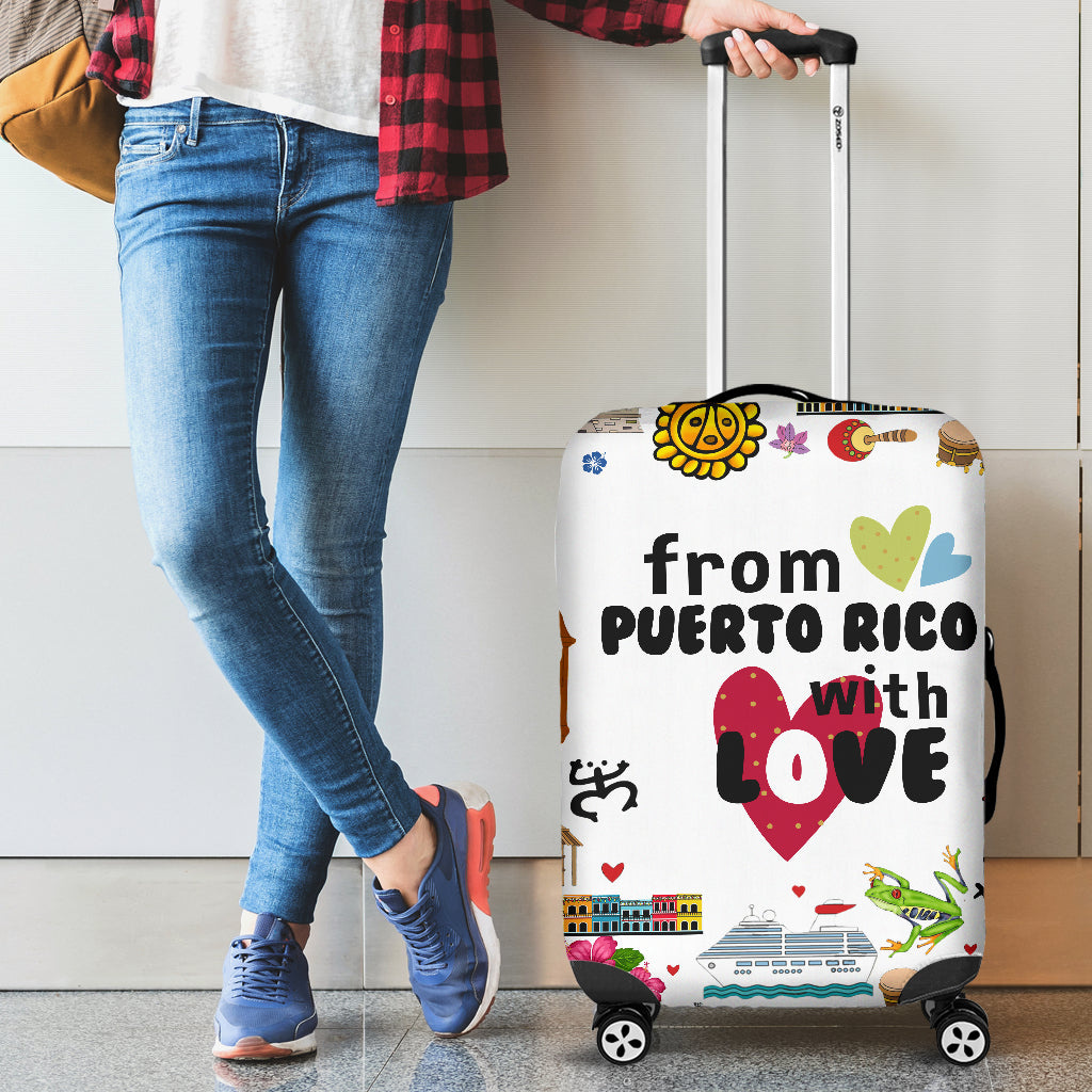 From Puerto Rico With Love Luggage Cover