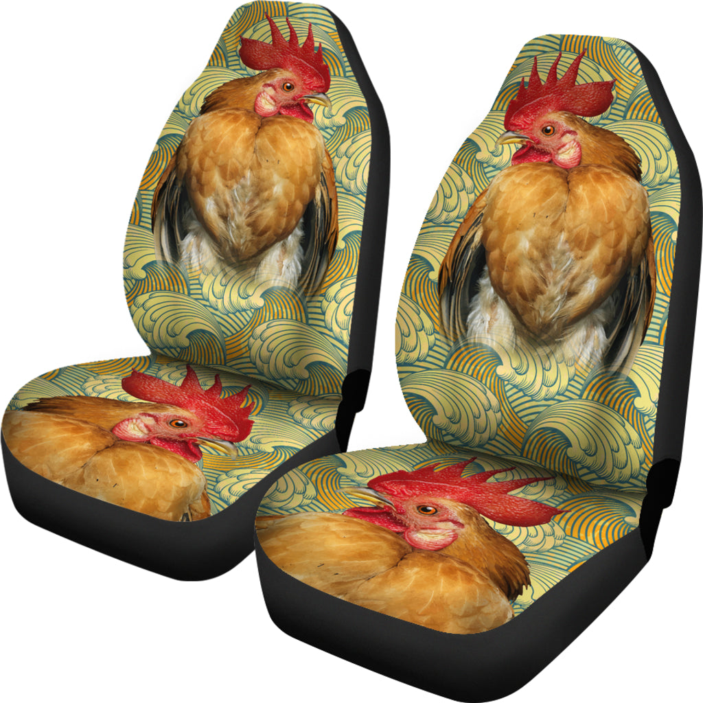 Chicken Pattern Car Seat Covers
