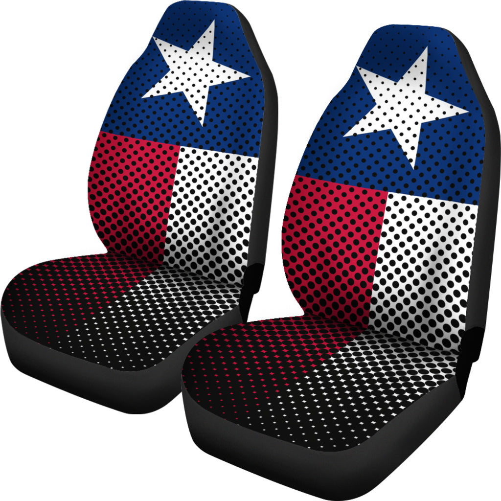 TEXAS FLAG CAR SEAT COVERS