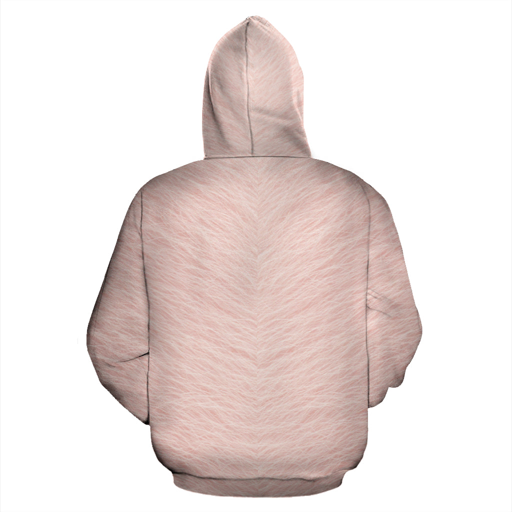 Pig Face All Over Hoodie -  Teezalo LLC