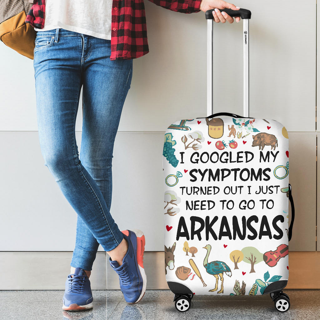 I Just Need To Go To Arkansas Luggage Covers