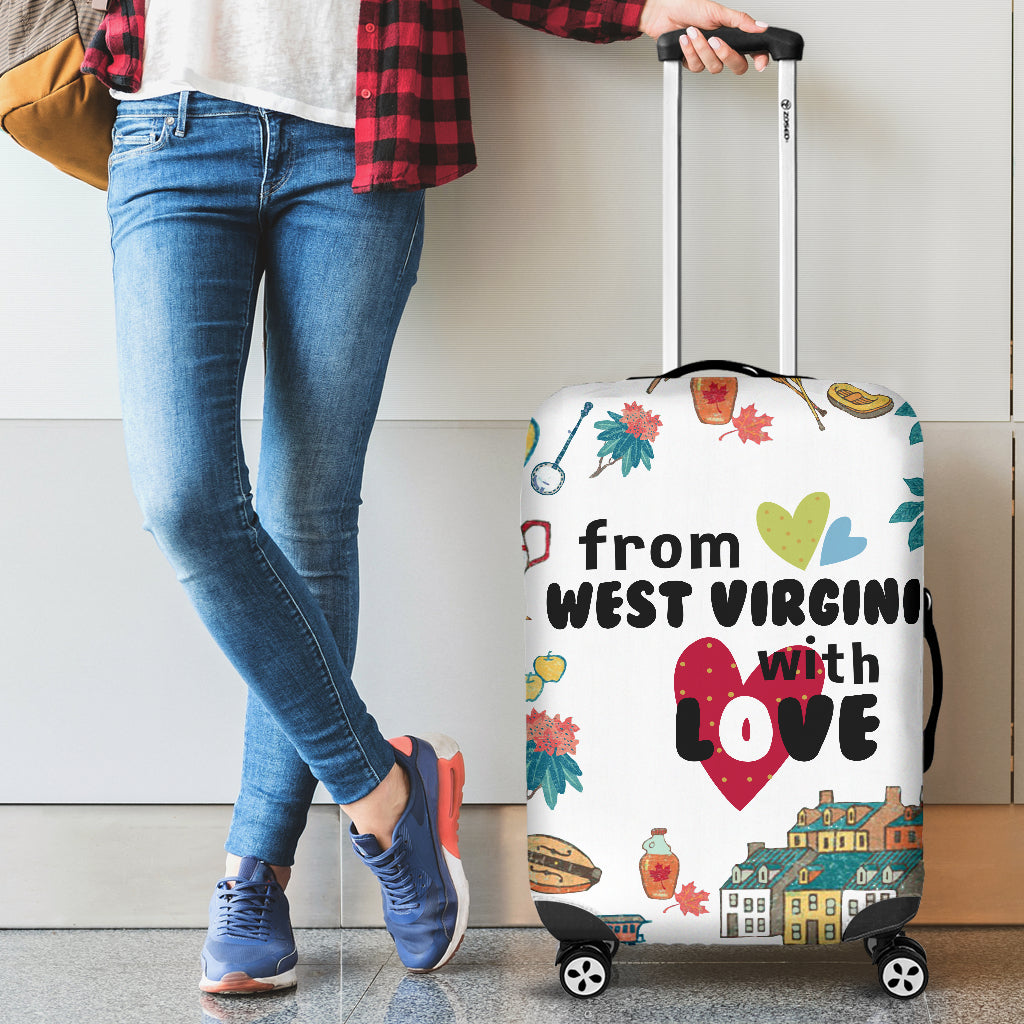 From West Virginia With Love Luggage Covers