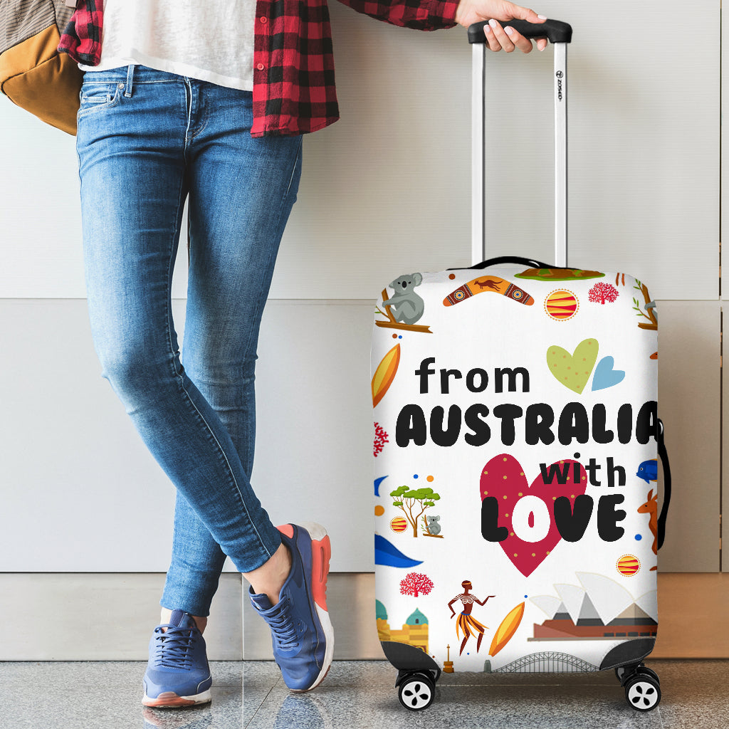 FROM AUSTRALIA WITH LOVE LUGGAGE COVER