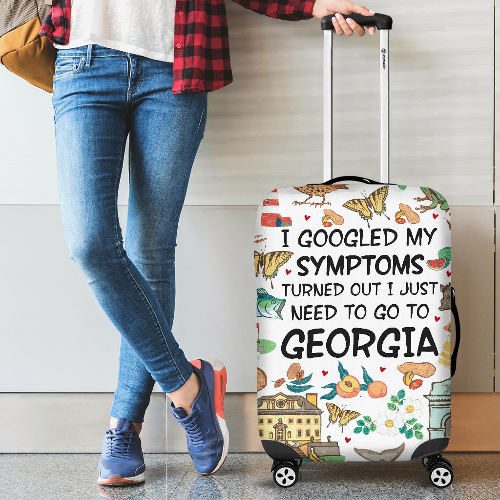 I Googled My Symptoms Turned Out To Georgia Luggage Covers