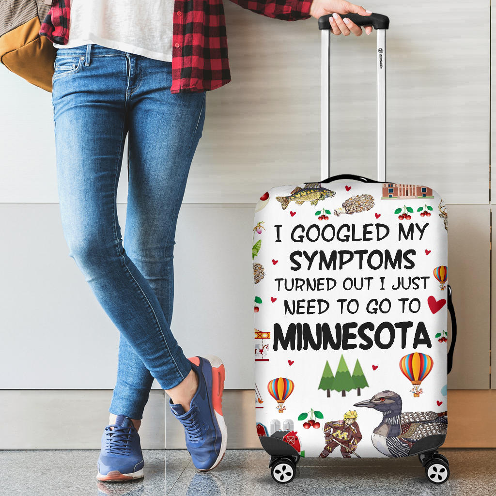 I Just Need To Go To Minnesota Luggage Covers