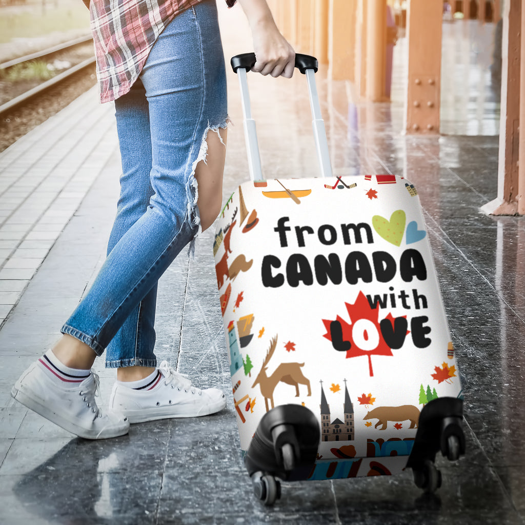 FROM CANADA WITH LOVE LUGGAGE COVER