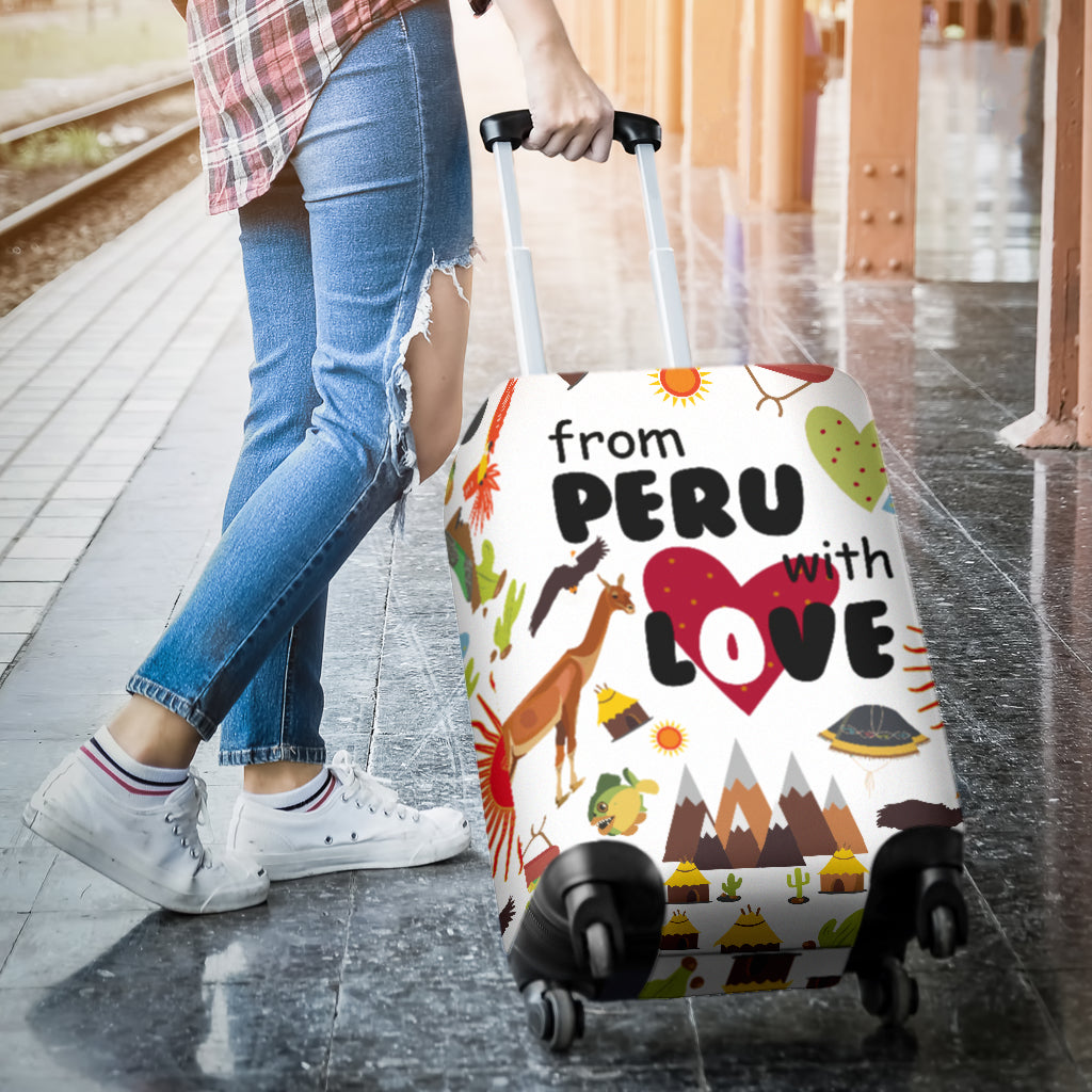 From Peru With Love Luggage Covers