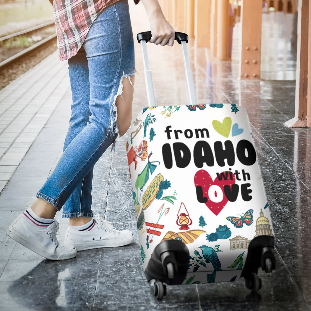 From Idaho With Love Luggage Covers