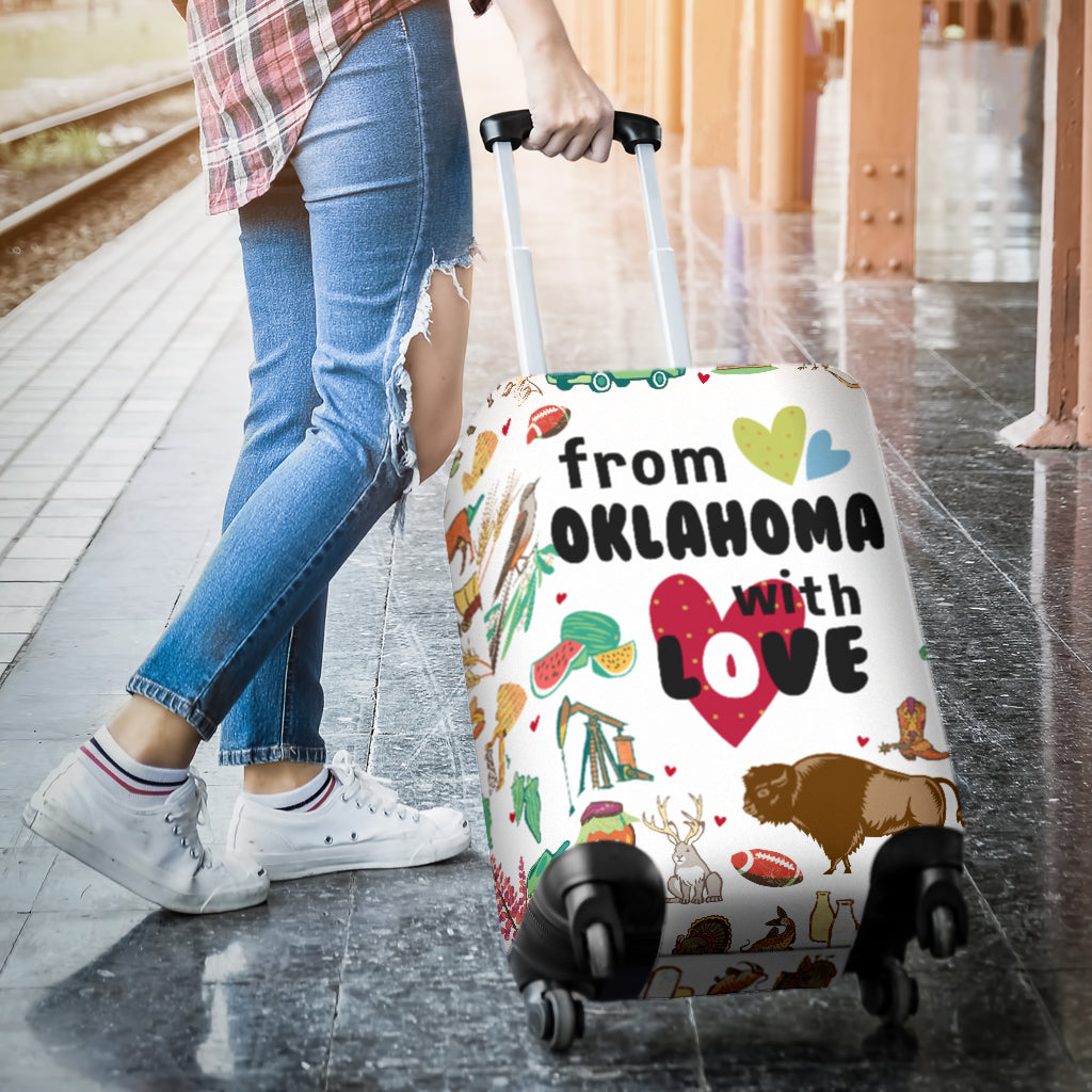From Oklahoma With Love Luggage Cover