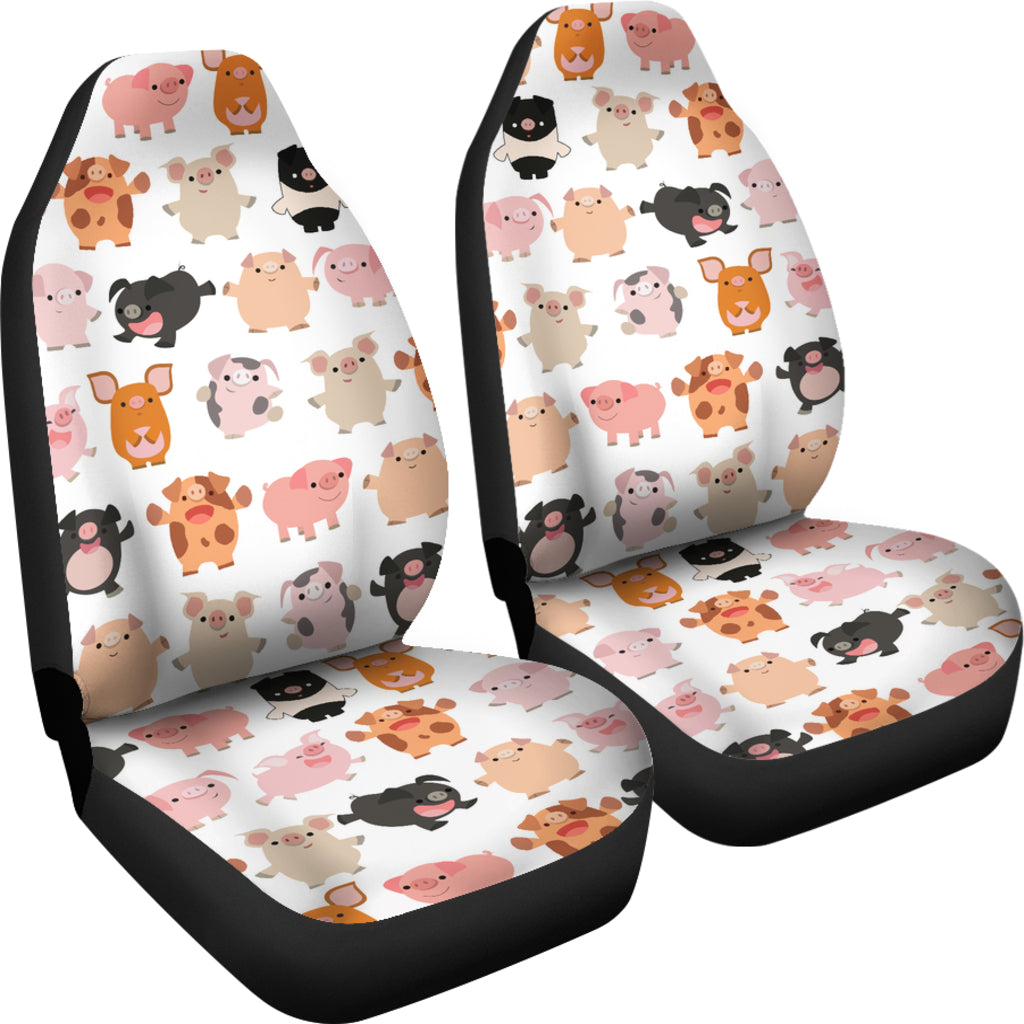 MANY PIGS CAR SEAT COVERS